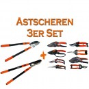 Astscheren 3er Set
